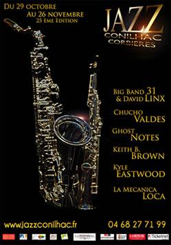 affiche festival jazz conilhac